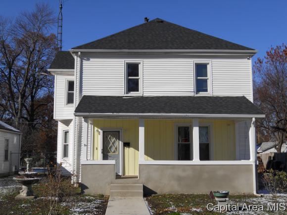 1135 Virginia, Springfield, IL 62702 (MLS #187287) :: Killebrew & Co Real Estate Team