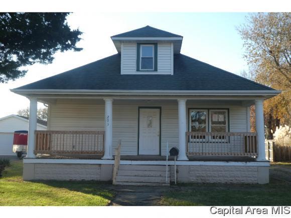 203 S Oak Street, Chatham, IL 62629 (MLS #187571) :: Killebrew RE