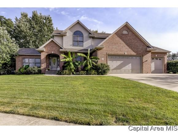 4 Woodland Trl, Rochester, IL 62563 (MLS #187718) :: Killebrew RE