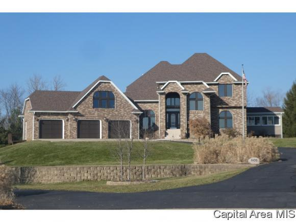605 W Hannah Drive, Sherman, IL 62684 (MLS #190703) :: Killebrew - Real Estate Group