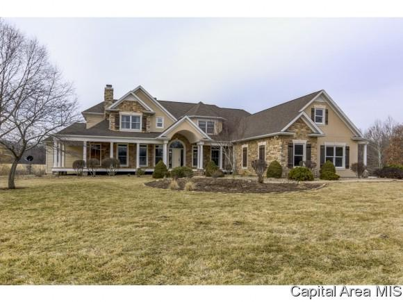 6551 White Deer Trail Rd, Rochester, IL 62563 (MLS #191458) :: Killebrew - Real Estate Group