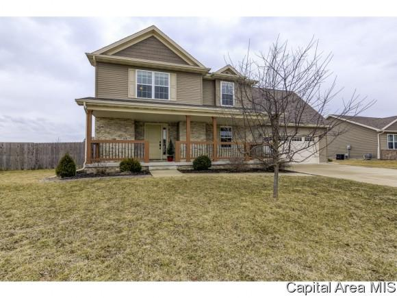 618 Jetty Dr, Chatham, IL 62629 (MLS #191472) :: Killebrew - Real Estate Group