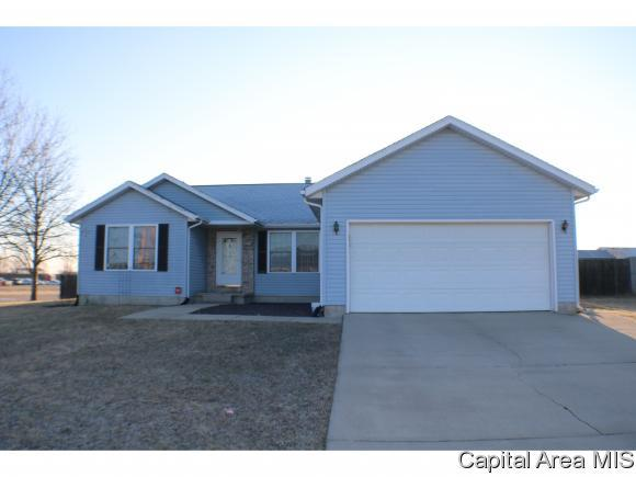 1216 Peachtree Dr, Chatham, IL 62629 (MLS #191514) :: Killebrew - Real Estate Group
