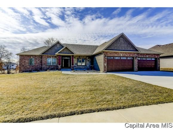 1912 Willow Bend, Chatham, IL 62629 (MLS #191536) :: Killebrew - Real Estate Group