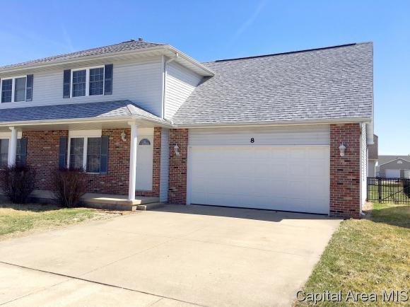 8B Dawson Circle, Riverton, IL 62561 (MLS #191720) :: Killebrew - Real Estate Group