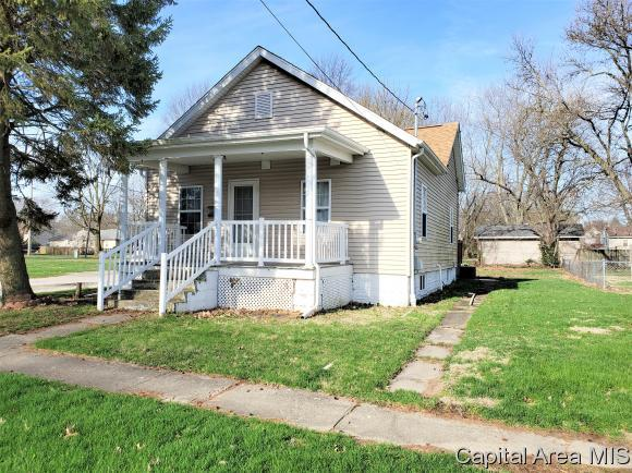 210 S 5th Street, Auburn, IL 62615 (MLS #192123) :: Killebrew - Real Estate Group