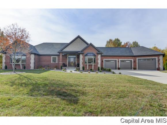 716 Prairie Lake Drive, Sherman, IL 62684 (MLS #192171) :: Killebrew - Real Estate Group