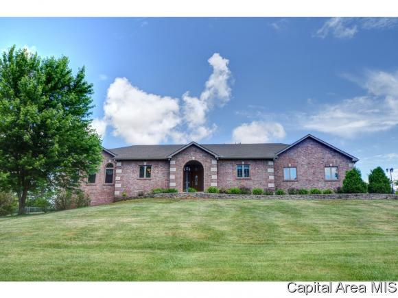 1275 Gracie Ln, Sherman, IL 62684 (MLS #192790) :: Killebrew - Real Estate Group
