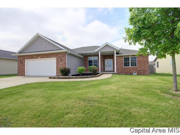 412 Garvey Ln, Chatham, IL 62629 (MLS #193083) :: Killebrew - Real Estate Group