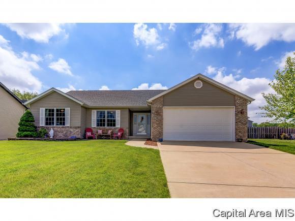 411 Mayapple Glen St, Chatham, IL 62629 (MLS #193097) :: Killebrew - Real Estate Group