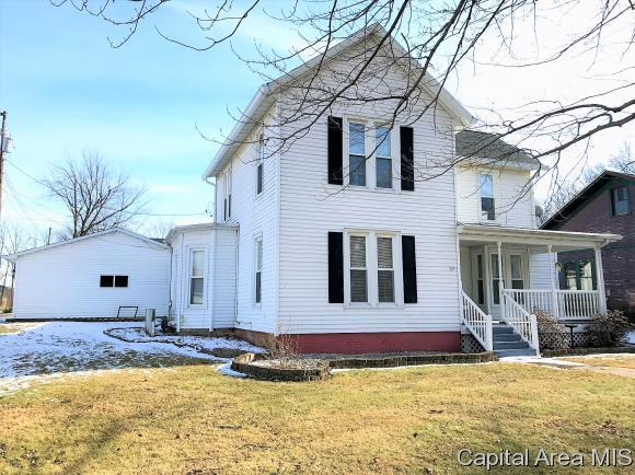 308 North Main, Athens, IL 62613 (MLS #180123) :: Killebrew & Co Real Estate Team
