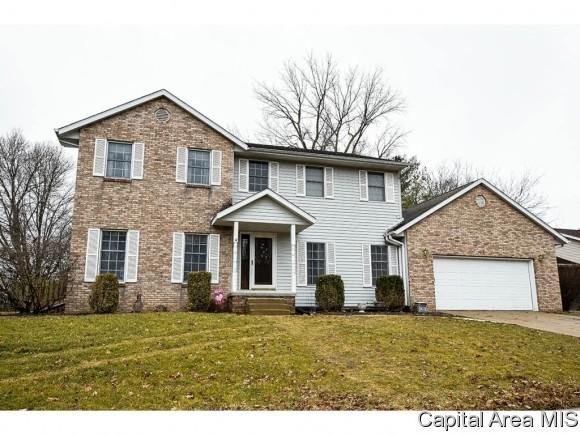 3408 Briana Dr, Springfield, IL 62711 (MLS #180255) :: Killebrew & Co Real Estate Team