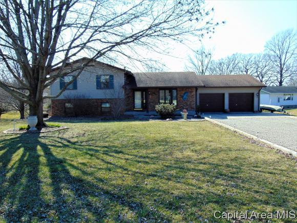 808 Poplar Dr, Petersburg, IL 62675 (MLS #180711) :: Killebrew & Co Real Estate Team