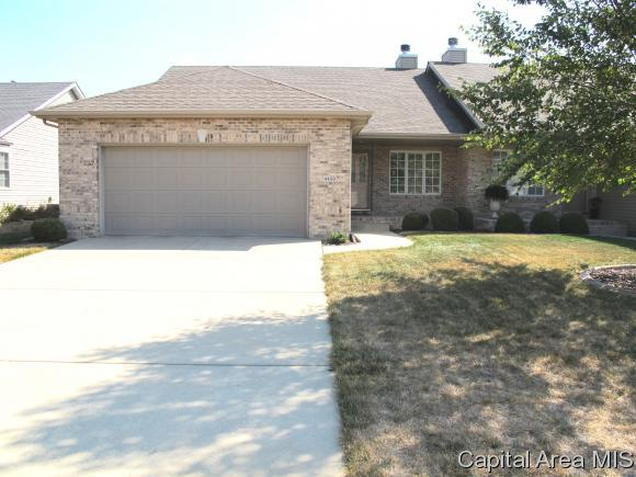4400 Castle Pines Dr, Springfield, IL 62711 (MLS #181208) :: Killebrew & Co Real Estate Team