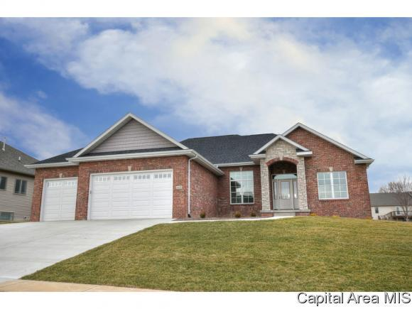 4135 Newbury Dr, Springfield, IL 62711 (MLS #181306) :: Killebrew & Co Real Estate Team