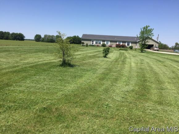 8775 Dawson Lane, Riverton, IL 62561 (MLS #181716) :: Killebrew & Co Real Estate Team