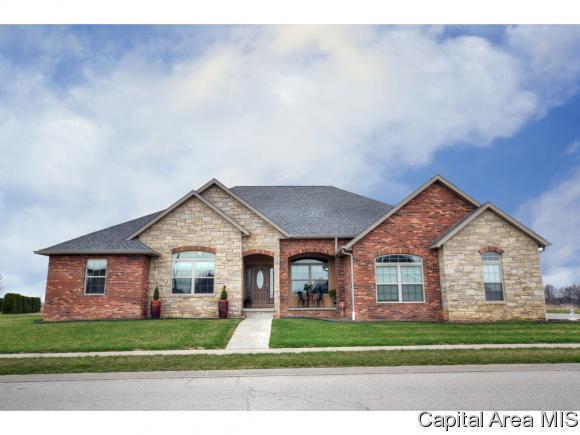 6605 Preston Dr, Springfield, IL 62711 (MLS #181896) :: Killebrew & Co Real Estate Team