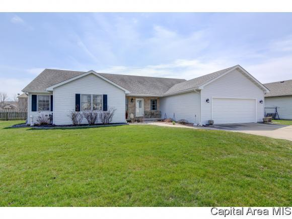 1202 Oakbrook, Chatham, IL 62629 (MLS #182083) :: Killebrew & Co Real Estate Team