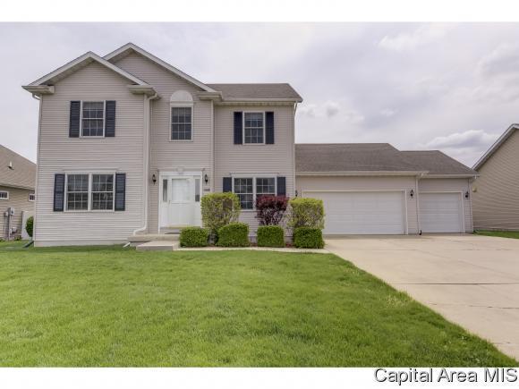 4108 Newtonmore Dr, Springfield, IL 62712 (MLS #182693) :: Killebrew & Co Real Estate Team