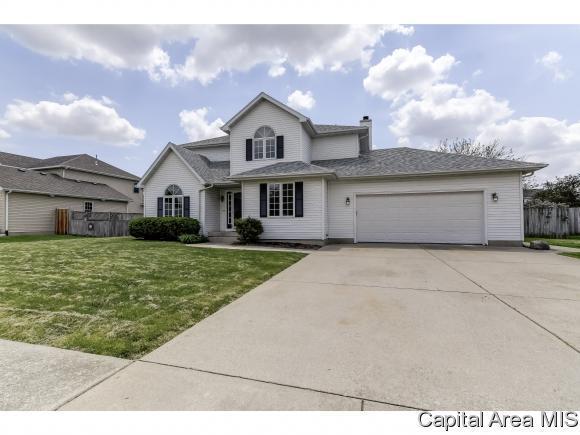 524 Augusta Dr, Chatham, IL 62629 (MLS #183023) :: Killebrew & Co Real Estate Team