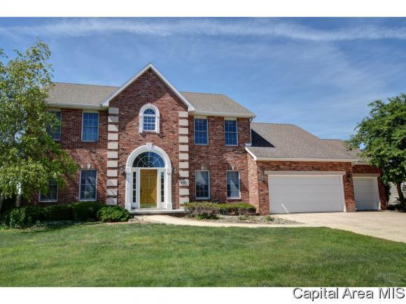 3805 Kingsley Dr, Springfield, IL 62711 (MLS #183455) :: Killebrew & Co Real Estate Team