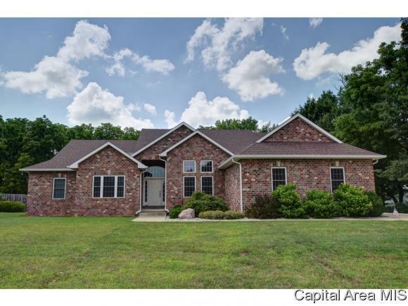 1205 Saratoga Chase, Sherman, IL 62684 (MLS #184326) :: Killebrew & Co Real Estate Team