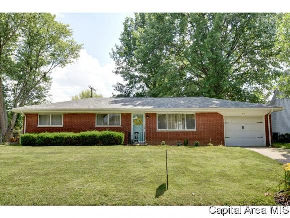 60 Mesa Rd, Springfield, IL 62702 (MLS #184529) :: Killebrew & Co Real Estate Team