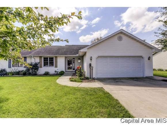 110 Willow Ln, Pleasant Plains, IL 62677 (MLS #185429) :: Killebrew RE