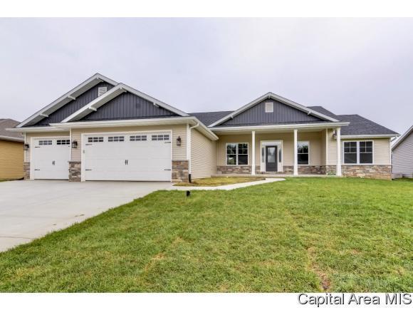 1815 Avenel Ln, Chatham, IL 62629 (MLS #185551) :: Killebrew & Co Real Estate Team