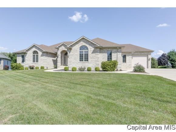 108 Northwoods, Chatham, IL 62629 (MLS #185784) :: Killebrew & Co Real Estate Team