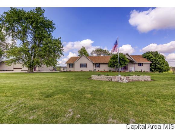 11340 Gordon Dr, Chatham, IL 62629 (MLS #192986) :: Killebrew - Real Estate Group