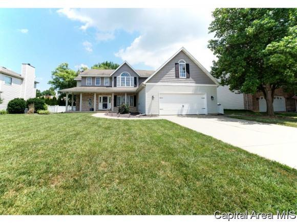 3012 Catalpa Dr, Springfield, IL 62712 (MLS #184671) :: Killebrew & Co Real Estate Team