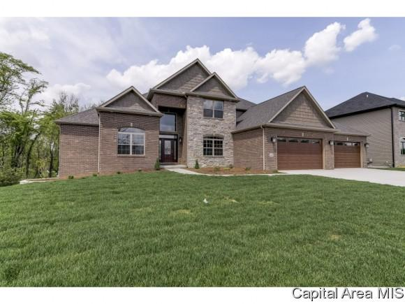1815 Willow Bend, Chatham, IL 62629 (MLS #177085) :: Killebrew & Co Real Estate Team