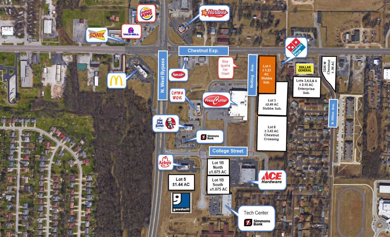 000 Chestnut, Lot 1 Expressway - Photo 1