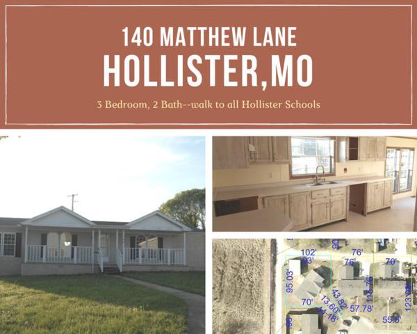 140 Matthew Lane, Hollister, MO 65672 (MLS #60108124) :: Team Real Estate - Springfield