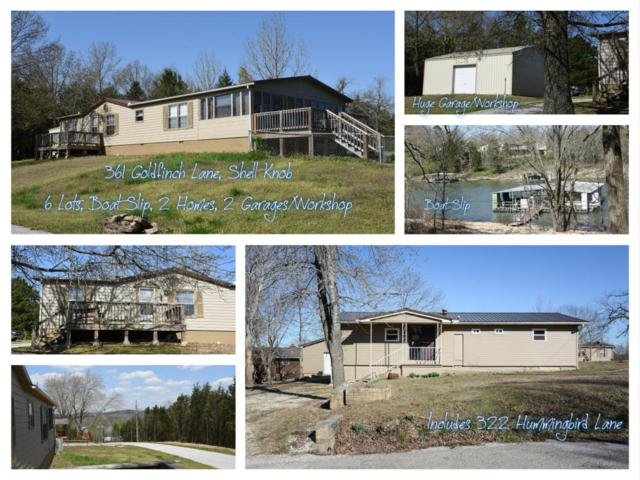 361 Goldfinch (Combined Listing) Lane, Shell Knob, MO 65747 (MLS #60117084) :: Good Life Realty of Missouri