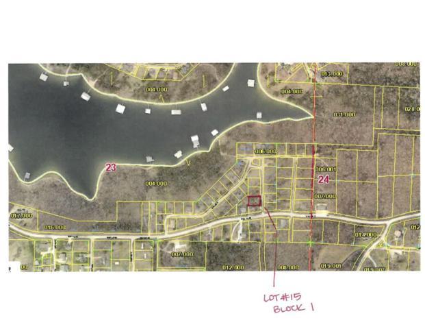 Lot #15 Blue Water Village, Branson West, MO 65737 (MLS #60119917) :: Team Real Estate - Springfield