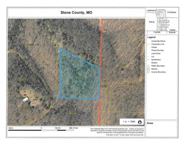 Tbd Misty Springs Road, Galena, MO 65656 (MLS #60136689) :: Sue Carter Real Estate Group