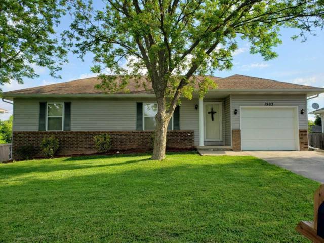 1503 W Ridgecrest Street, Ozark, MO 65721 (MLS #60137557) :: Massengale Group