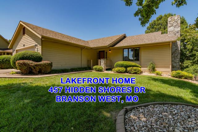 457 Hidden Shores Drive, Branson West, MO 65737 (MLS #60142248) :: Team Real Estate - Springfield