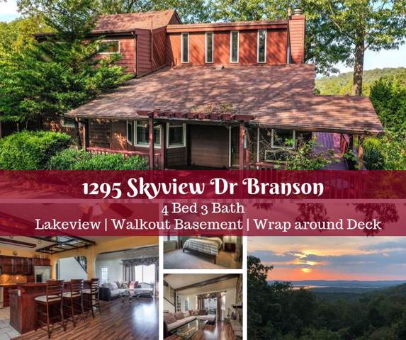 1295 Skyview Drive, Branson, MO 65616 (MLS #60147621) :: Sue Carter Real Estate Group