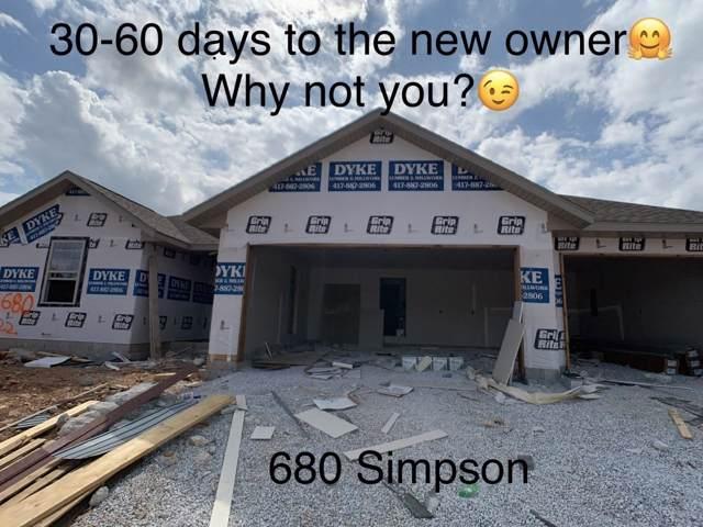 680 E Simpson Street, Willard, MO 65781 (MLS #60149468) :: The Real Estate Riders