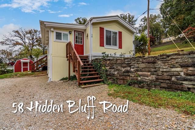 58 Hidden Bluff Road, Blue Eye, MO 65611 (MLS #60150629) :: Massengale Group