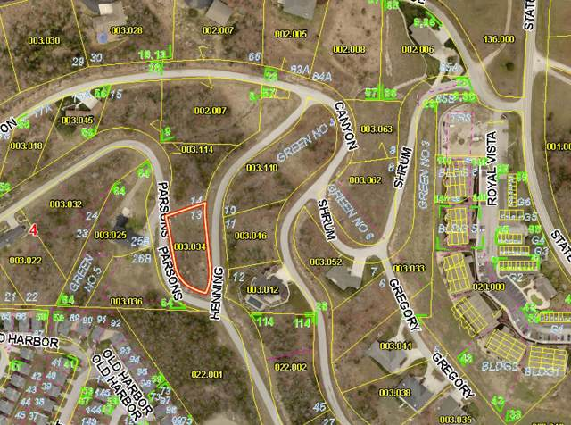 Lot 13 Henning Crossing, Branson, MO 65616 (MLS #60154474) :: The Real Estate Riders