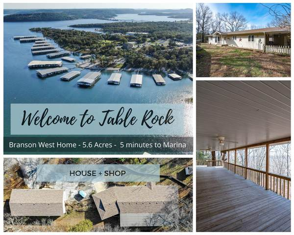 629 State Hwy Dd, Branson West, MO 65737 (MLS #60157216) :: Team Real Estate - Springfield
