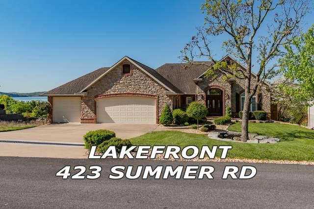 423 Summer Road, Kimberling City, MO 65686 (MLS #60165602) :: Weichert, REALTORS - Good Life