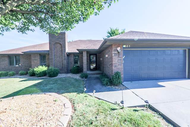 805 W Blackberry Lane, Nixa, MO 65714 (MLS #60169532) :: Weichert, REALTORS - Good Life