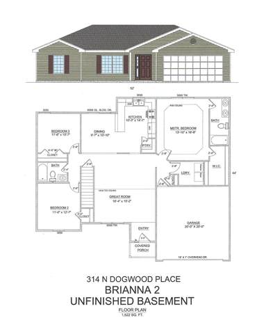 314 Dogwood Place Lot 116, Branson West, MO 65737 (MLS #60176719) :: Evan's Group LLC