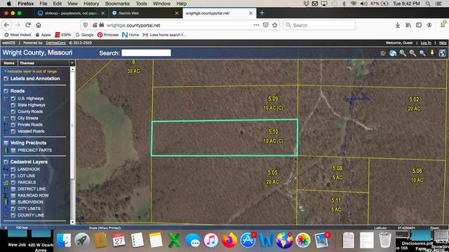 00 Weaver Road, Grovespring, MO 65662 (MLS #60177144) :: Sue Carter Real Estate Group