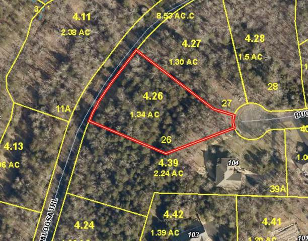 Lot 26 Buckskin Gap, Saddlebrooke, MO 65630 (MLS #60181657) :: United Country Real Estate